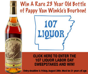 Enter the 107 Liquor contest!