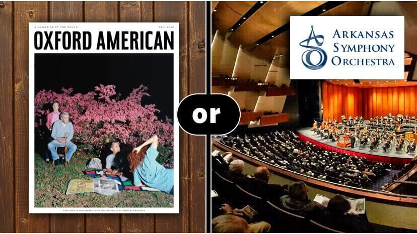 Oxford American or Arkansas Symphony Orchestra – your pick
