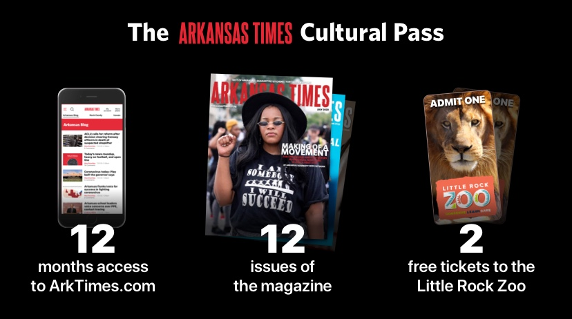 The Arkansas Times Cultural Pass